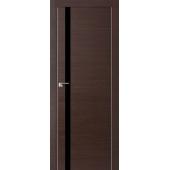 Межкомнатная дверь Экошпон М2 венге лакобель