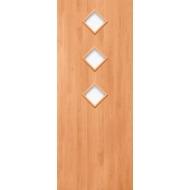 Межкомнатная ламинированная дверь Троя