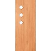 Межкомнатная ламинированная дверь Тройка