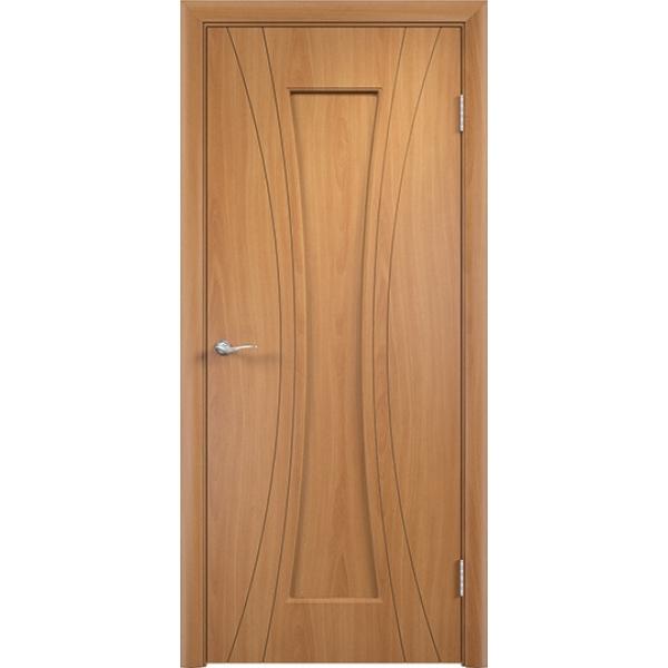 Межкомнатная дверь ПВХ Богемия Миланский орех