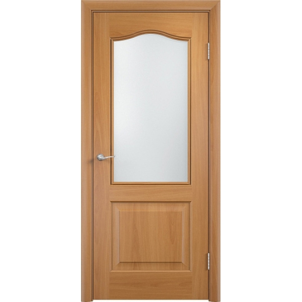 Межкомнатная дверь ПВХ Классика Миланский орех