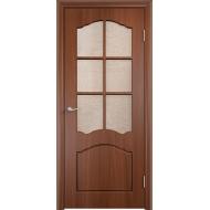 Межкомнатная дверь ПВХ Лидия Орех