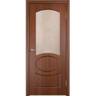 Межкомнатная дверь ПВХ Неаполь Орех