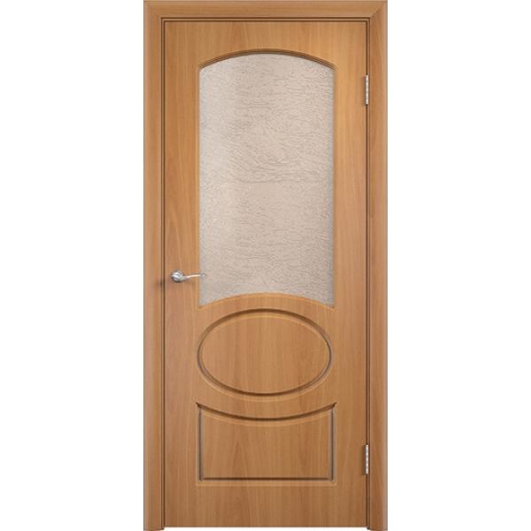 Межкомнатная дверь ПВХ Неаполь Миланский орех