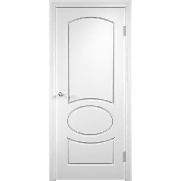 Межкомнатная дверь ПВХ Неаполь Белая