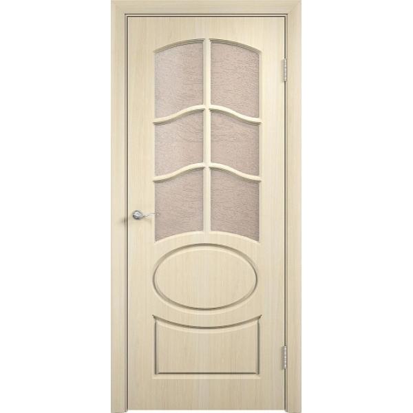 Межкомнатная дверь ПВХ Неаполь-2 Береза