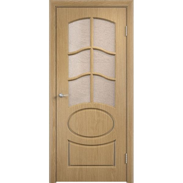 Межкомнатная дверь ПВХ Неаполь-2 Дуб
