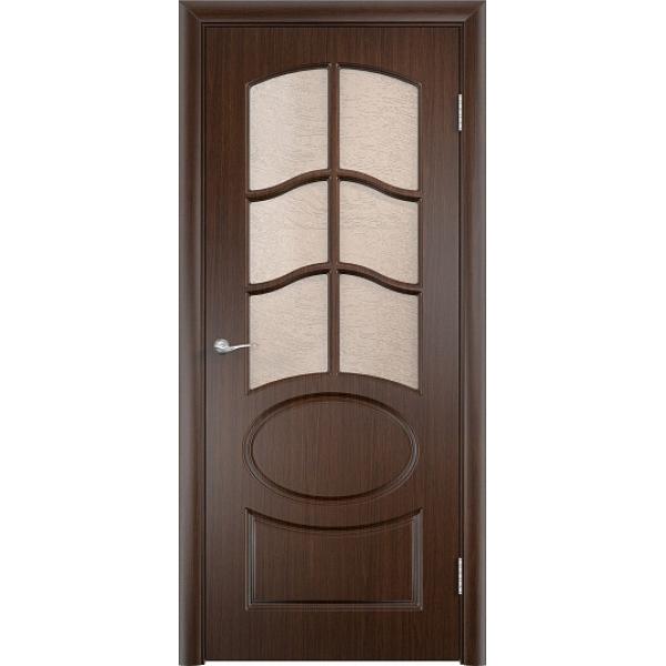Межкомнатная дверь ПВХ Неаполь-2 Венге