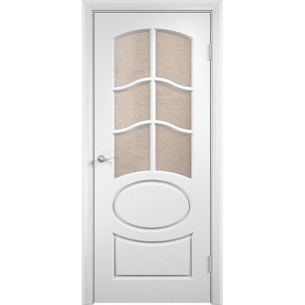 Межкомнатная дверь ПВХ Неаполь-2 Белая