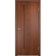 Межкомнатная дверь ПВХ Омега Орех