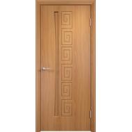 Межкомнатная дверь ПВХ Омега Миланский орех