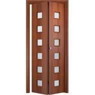 Складная межкомнатная дверь Альта Итальянский орех