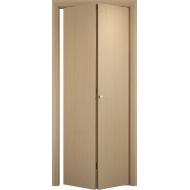 Складная межкомнатная дверь ДПГ Беленый дуб