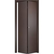 Складная межкомнатная дверь ДПГ Венге