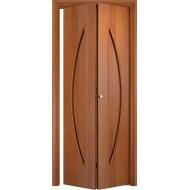 Складная межкомнатная дверь Парус Груша