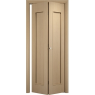 Складная межкомнатная дверь Тетра Беленый дуб