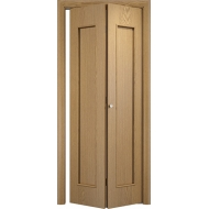 Складная межкомнатная дверь Тетра Светлый дуб