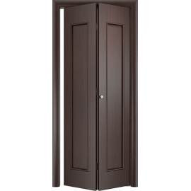 Складная межкомнатная дверь Тетра Венге